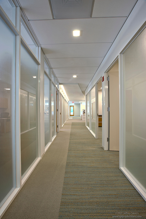 Architectural Interior of Washington, DC Law Firm Paul Weiss by Jeffrey  Sauers of Commercial Photographics.