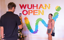 September 22, 2018 - Alize Cornet of France on the red carpet at the 2018 Dongfeng Motor Wuhan Open WTA Premier 5 tennis tournament players party (Credit Image: © AFP7 via ZUMA Wire)