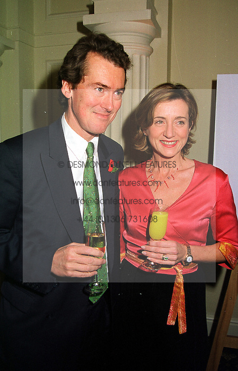 MR & MRS ABEL HADDEN, their daughter was a bridesmaid at the Countess of Wessex's wedding, at a party in London on 9th November 1999.MYW 35