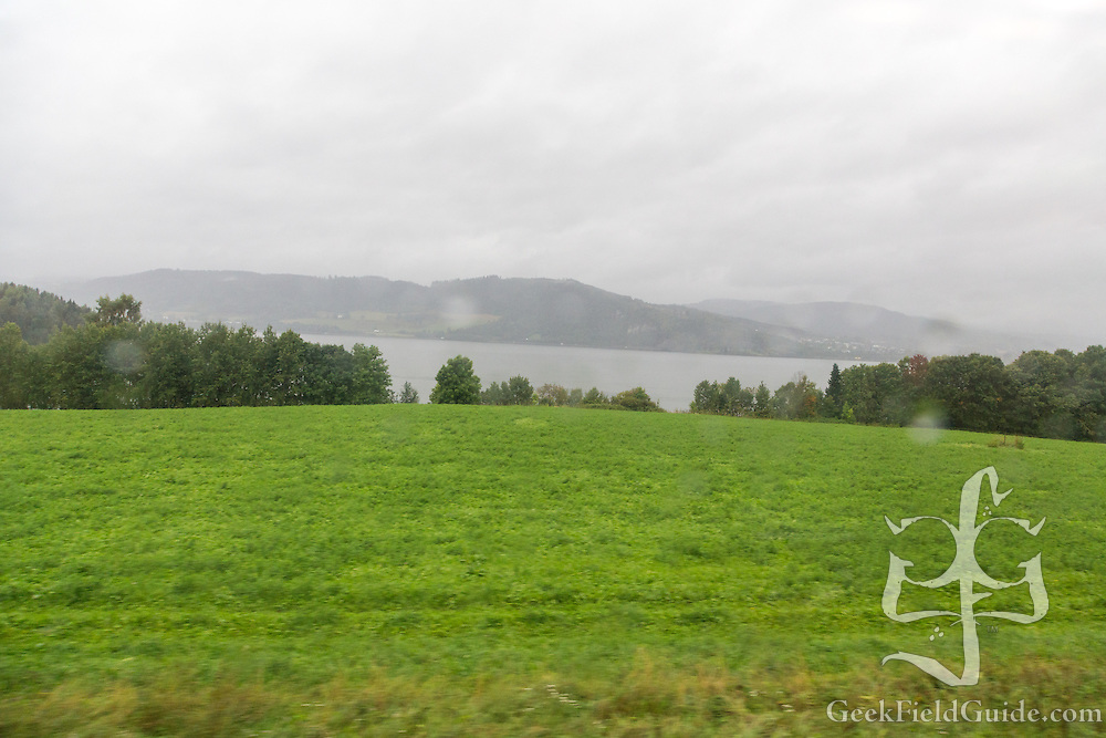 Did I mention Norway was very green?