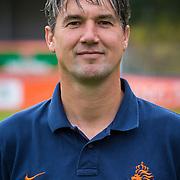 NLD/Velsen/20130701 - Selectie Nederlands Dames voetbal Elftal, Marcel Geestman assistent coach
