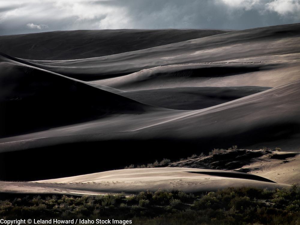 Idaho, east, St. Anthony Sand Dunes