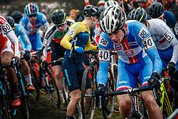 Jonas BREZINA of CZE during the Men Under 23 race, UCI Cyclo-cross World Championship at Bieles, Luxembourg, 29 January 2017. Photo by Pim Nijland / PelotonPhotos.com | All photos usage must carry mandatory copyright credit (Peloton Photos | Pim Nijland)