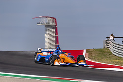 March 22, 2019 - Austin, Texas, U.S. - SCOTT DIXON (9) of New Zealand goes through the turns during practice for the INDYCAR Classic at Circuit Of The Americas in Austin, Texas. (Credit Image: © Walter G Arce Sr Asp Inc/ASP)