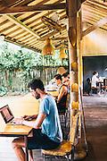 Hubud [Hub-in-Ubud] a collaborative working space.