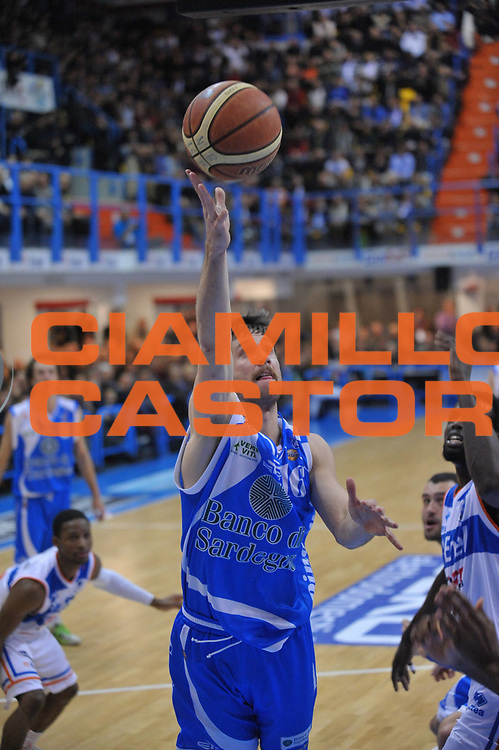 DESCRIZIONE : Brindisi Lega A 2012-13 Enel Brindisi Banco di Sardegna Sassari<br /> GIOCATORE : Drake Diener<br /> CATEGORIA : Tiro<br /> SQUADRA : Banco di Sardegna Sassari<br /> EVENTO : Campionato Lega A 2012-2013 <br /> GARA : Enel Brindisi Banco di Sardegna Sassari<br /> DATA : 03/03/2013<br /> SPORT : Pallacanestro <br /> AUTORE : Agenzia Ciamillo-Castoria/V.Tasco<br /> Galleria : Lega Basket A 2012-2013  <br /> Fotonotizia : Brindisi Lega A 2012-13 Enel Brindisi Banco di Sardegna Sassari