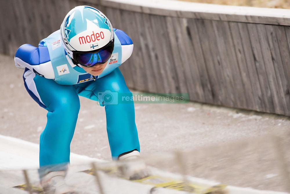 February 7, 2019 - Ljubno, Savinjska, Slovenia - Susanna Forsstroem of Finland competes on qualification day of the FIS Ski Jumping World Cup Ladies Ljubno on February 7, 2019 in Ljubno, Slovenia. (Credit Image: © Rok Rakun/Pacific Press via ZUMA Wire)