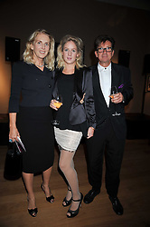 Francesco & Gael Boglione and their daughter Lara at fundraising dinner and auction in aid of Liver Good Life a charity for people with Hepatitis held at Christies, King Street, London on 16th September 2009.