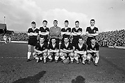 17/02/1963<br /> 02/17/1963<br /> 17 February 1963<br /> Soccer: Shamrock Rovers v Cork Celtic at Glenmalure Park, Milltown. The Cork Celtic team.