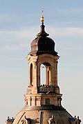 Aussichtsplattform der Frauenkirche, Dresden, Sachsen, Deutschland.|.look out on church of Our Lady, Dresden, Germany