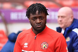 March 16, 2019 - Sunderland, Tyne and Wear, United Kingdom - Walsall's Aramide Oteh during the Sky Bet League 1 match between Sunderland and Walsall at the Stadium Of Light, Sunderland on Saturday 16th March 2019. (Credit: Steven Hadlow | MI News) (Credit Image: © Mi News/NurPhoto via ZUMA Press)