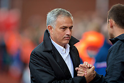STOKE-ON-TRENT, ENGLAND - Saturday, September 9, 2017: Manchester United's manager Jose Mourinho before the FA Premier League match between Stoke City and Manchester United at the Bet365 Stadium. (Pic by David Rawcliffe/Propaganda)