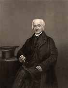 Thomas Vowler Short (1790-1872) English churchman. Bishop of St Asaph. Friend of John Keble and Edward Bouverie Pusey, members of the Oxford Movement (Tractarians).  Engraving from 'The Illustrated News of the World' (London, c1860). Religion. Christian. Anglican.