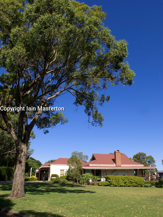 D`Arenberg winery  at Mclaren Vale near Adelaide in South Australia