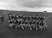 17/08/1958<br /> 08/17/1958<br /> 17 August 1958<br /> All-Ireland Minor Semi-Final: Galway v Kilkenny at Croke Park, Dublin. Galway team.
