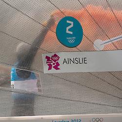 2012 Olympic Games London / Weymouth<br /> Finn Medal Race<br /> Ainslie Ben, (GBR, Finn)