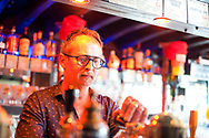 Beers'n Paradise bar in rue Victor Hugo, Boulogne-sur-Mer, Pas-de-Calais, France © Rudolf Abraham