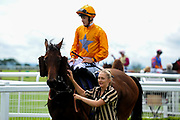 Big Time Maybe ridden by Harry Bentley and trained by Michael Attwater in the Best Free Tips At Valuerater.Co.Uk Handicap (Bath Summer Sprint Series Qualifier) (Class 6) race. - Ryan Hiscott/JMP - 07/08/2019 - PR - Bath Racecourse - Bath, England - Race Meeting at Bath Racecourse
