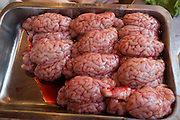 "Istanbul. At the Egyptian Bazar (""Spice Bazar""). Mutton brains."