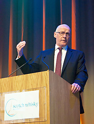 Deputy First Minister John Swinney spoke to delegates at the Scotch Whisky Association members' day at the Assembly Rooms, Edinburgh 03052018 pic by Terry Murden @edinburghelitemedia