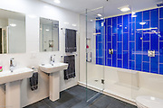 Contemporary Bathroom with Dual Sinks
