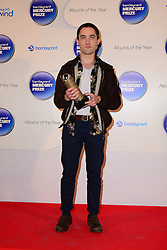 Mercury Prize. <br /> Connor from The Villagers attends the Barclaycard Mercury Prize at The Roundhouse, London, United Kingdom. Wednesday, 30th October 2013. Picture by Nils Jorgensen / i-Images