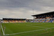 Call Stadium One during the Sky Bet League 2 match between Mansfield Town and York City at the One Call Stadium, Mansfield, England on 28 December 2015. Photo by Simon Davies.