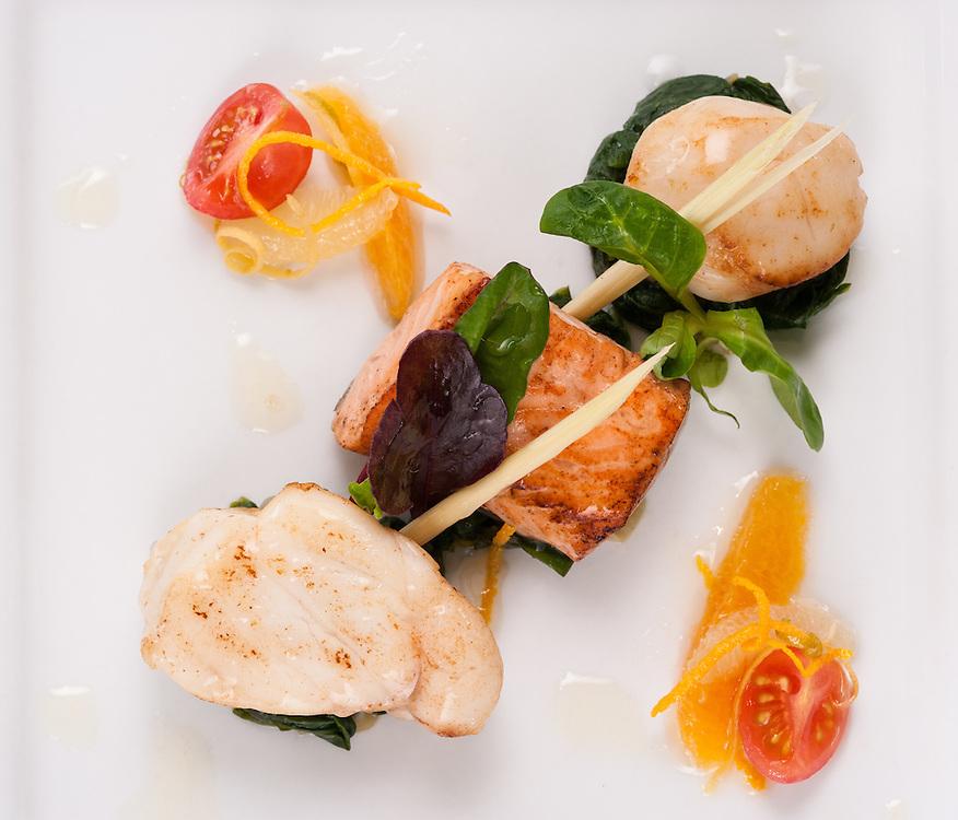 Royal Golf Hotel, Dornoch, Sutherland, food prepared by Saminda Mavilmada