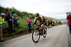 Grace Brown (AUS) at Stage 3 of 2019 OVO Women's Tour, a 145.1 km road race from Henley-on-Thames to Blenheim Palace, United Kingdom on June 12, 2019. Photo by Sean Robinson/velofocus.com