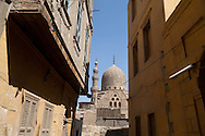 Egypt. Cairo - sultan Qaytbay , mosque, mausoileum in the northern cemetery and the door of Qaytbay  Cairo +