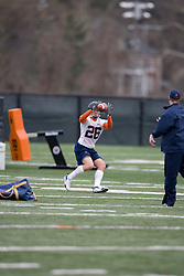 Virginia Cavaliers WR Cary Koch (26)<br /> <br /> The Virginia Cavaliers football team opened their spring practice season on March 21, 2007 on the football practice fields behind University Hall in Charlottesville, VA.