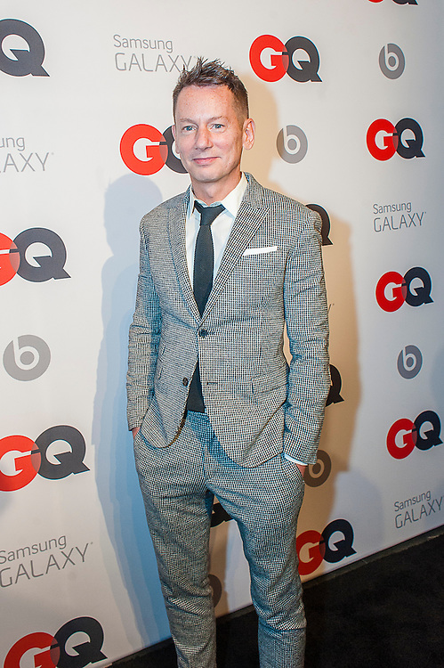 Editor-In-Chief Jim Nelson posing at the GQ & Lebron James NBA All Star Style party sponsored by Samsung Galaxy on Saturday, February 15, 2014, at the Ogden Museum of Southern Art in New Orleans, Louisiana with live jam session from grammy Award-winning Artist The Roots. Photo Credit: Gustavo Escanelle / Retna Ltd.