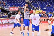 DESCRIZIONE : Berlino Eurobasket 2015 Islanda Italia<br /> GIOCATORE : Alessandro Gentile<br /> CATEGORIA : riscaldamento pre game pregame<br /> SQUADRA : Italia<br /> EVENTO : Eurobasket 2015<br /> GARA : Islanda Italia<br /> DATA : 06/09/2015<br /> SPORT : Pallacanestro<br /> AUTORE : Agenzia Ciamillo&shy;Castoria/M.Longo<br /> Galleria : Eurobasket 2015<br /> Fotonotizia : Berlino Eurobasket 2015 Islanda Italia