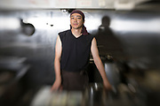 The master of the ramen restaurant