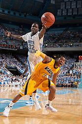 15 November 2009: North Carolina Tar Heels forward Ed Davis (32) during a 88-77 win over the Valparaiso Crusaders at the Dean Smith Center in Chapel Hill, NC.