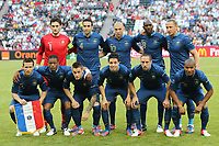 FOOTBALL - UEFA EURO 2012 - DONETSK - UKRAINE - GROUP STAGE - GROUP D - FRANCE v ENGLAND - 11/06/2012 - PHOTO PHILIPPE LAURENSON / DPPI - FRANCE TEAM