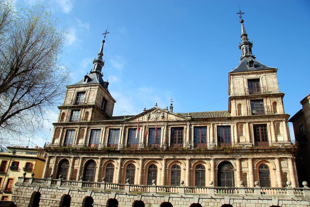 Europe, Spain, Toledo. Toledo City Hall.
