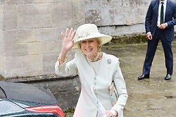 HRH Princess Alexandra at the wedding of the Hon.Alexandra Knatchbull to Thomas Hooper held at Romsey Abbey, Romsey, Hampshire on 25th June 2016