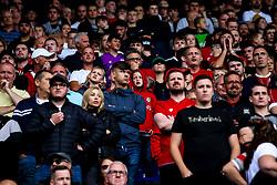 Bristol City fans at Birmingham City - Mandatory by-line: Robbie Stephenson/JMP - 10/08/2019 - FOOTBALL - St Andrew's Stadium - Birmingham, England - Birmingham City v Bristol City - Sky Bet Championship