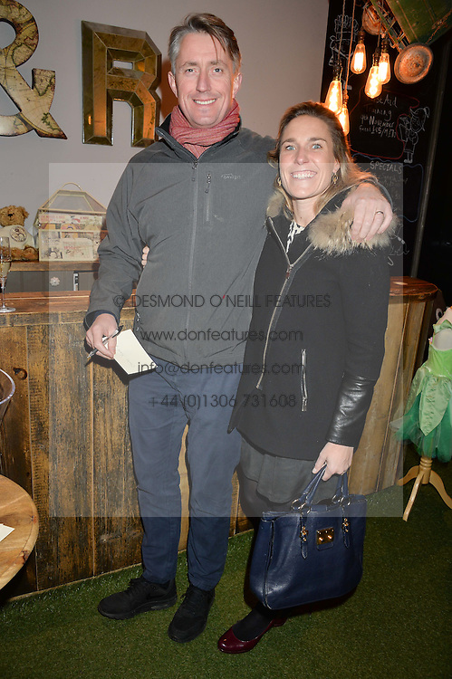 CHARLES & POPPY SCOTT PLUMMER at a Fondue evening hosted by Rose van Cutsem and her brother Tom Astor to celebrate the new ski Season with leading ski resort Meribel, Besson Clothing and ESF ski schools at Maggie & Rose, 58 Pembroke Road, London on 7th November 2016.