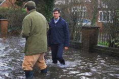 FEB 11 2014 Ed Miliband visits Wraysbury