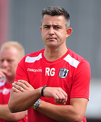 ROB GOULD ASSISTANT MANAGER CORBY TOWN, Corby Town v Basford  Ltd, EVO Stick Northern Premier Division 1 South, Steel Park Saturday 26th August 2017 Score 1-4<br /> Photo:Mike Capps/kappasport.co.uk