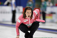Heather Nedohin The 2011 GP Car and Home Players' Championship ran April 12-17 at the Crystal Centre, Grande Prairie, AB..11-04-13, Photo Randy Vanderveen, Grande Prairie, Alberta.