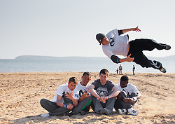 Parkour and Freerunning show and photography with No Limits at Duncannon, Wexford, Ireland.