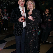John Korwin Szymanowski and Ewa Stefanska attend to support the Hornï Underwear for London Launch Party to support global rhino conservation fundraising on 8 Feb 2018 at Cuckoo Club in London, UK.