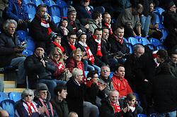 Bristol City fans - Photo mandatory by-line: Dougie Allward/JMP - Mobile: 07966 386802 - 21/02/2015 - SPORT - Football - Colchester - Colchester Community Stadium - Colchester United v Bristol City - Sky Bet League One