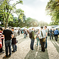 Impressions of the Open Source Festival 2015 at Galopprennbahn in Grafenberg, Duesseldorf.
