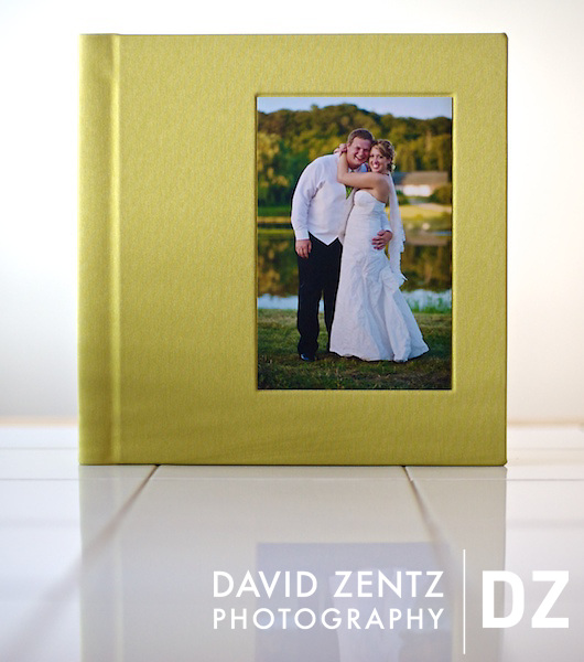 Heidi and Seth's finished book. ©David Zentz Photography 2010