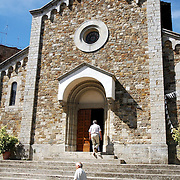 Facade of Church at Chienti region