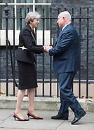Benjamin Netanyahu visits 10 Downing Street